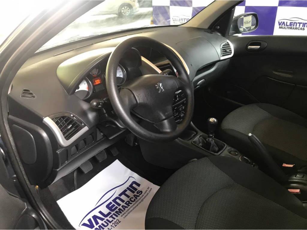 Foto numero 8 do veiculo Peugeot 207 1.4 XR - Azul - 2011/2012